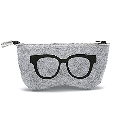 Custodia astuccio portaocchiali tessuto protezione porta occhiali sole vista GIALLO Vinciann CAPTPPOSGL