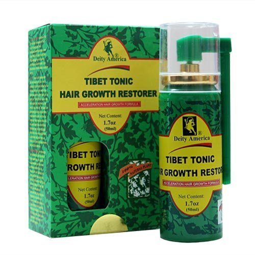 Deity Tibet Tonic Hair Growth Restorer 1.7 Ounce (50ml)