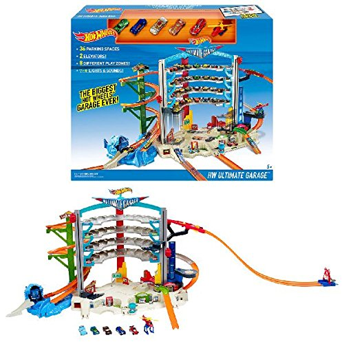 car garage playset - 8