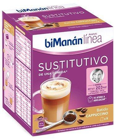 BIMANAN batido dietético de chocolate con leche+coktelera gratis 5 batidos: Amazon.es: Alimentación y bebidas