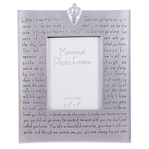 Roman Religious Memorial Bereavement Picture Photo Frame with Verse 40482
