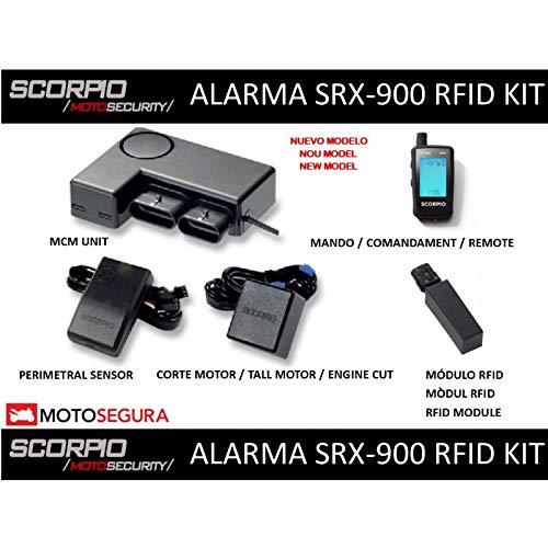 Alarma Scorpio SRX-900-2 vias RFID Kit (con Sensor ...