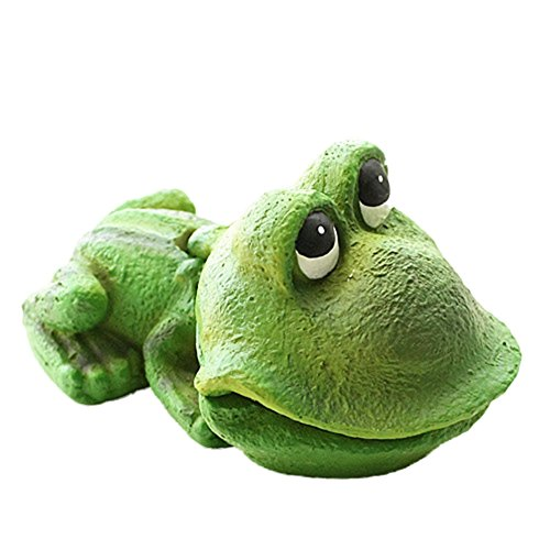 Frog Aquarium Ornament - Gilroy Aquarium Ornament, Frog Air Stone Bubbler Aerating Aquarium Ornament Resin Decor for Fish Tank