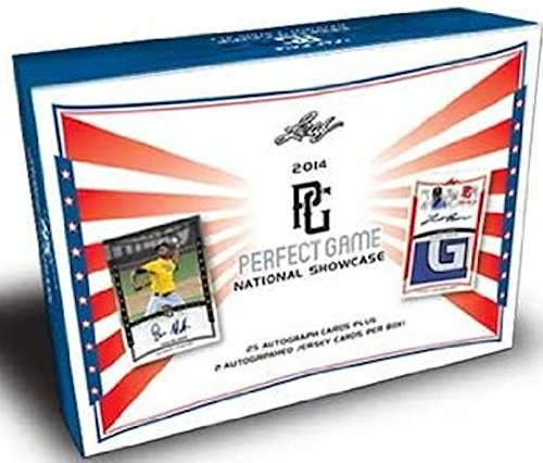 2014 Leaf Perfect Game Baseball Hobby Box (23 Autograph cards + 2 Auto jersey cards per box) - In Stock!! - Baseball Cards 2014 Box
