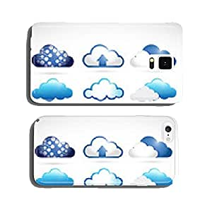 set of different clouds. cloud computing cell phone cover case iPhone6 Plus