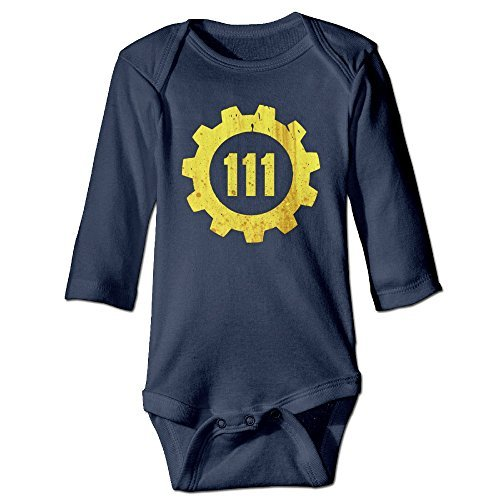 Vault 111 Infants Cool Baby Onesies Jumpsuit (Fallout Onesie)