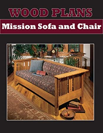 Delightful SOFA AND CHAIR   MISSION STYLE   PAPER WOODWORKING PLANS