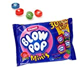 Halloween Blow Pop Minis Snack Size Pouches, Bag of 30, 8.5 oz