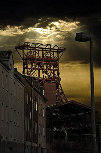 Home Comforts Laminated Poster Gelsenkirchen Ruhr Area Zeche Consol Mining Poster