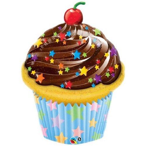 - Qualatex 35 Inch Shaped Cupcake Balloon