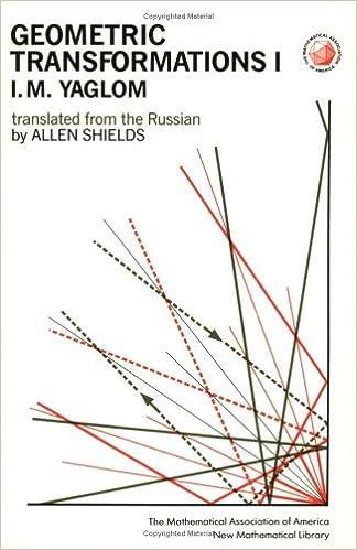 Amazon.com: Geometric Transformations I (Number 8) (Bk. 1 ...