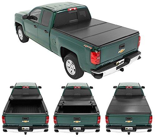 old Hard Tonneau Cover for 2014-2018 Chevrolet Silverado/GMC Sierra 1500 (w/o cargo management system), 5.5' bed (Cargo Management System)