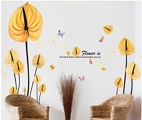 Plantas, flores, sillones, salas, pegatinas de pared (900 ...