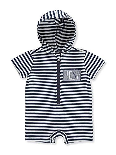 Diesel Baby Boys' Hooded Romper
