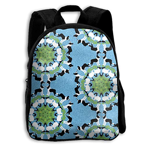 The Children's Border Collie Sheep Snowflakes Backpack