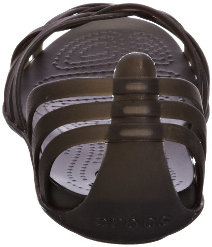 Black Ballerine Donna Huarache Black Flat Women Crocs Schwarz 060 Nero Zwf0UqfyO