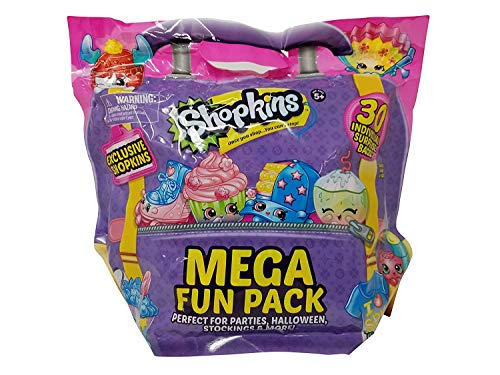 Shopkins Mega Fun Pack with 30 Individually Bags, Multicolor -