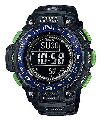 Reloj CASIO SGW-1000-2BCF SPORT GEAR Collection Análogo Triple Sensor: Brújula/altímetro/barómetro/termómetro...