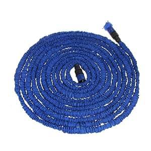 Anself - Manguera de Agua 100FT + Boquilla de Aerosol,Color Azul