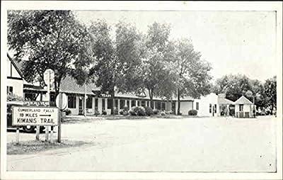 Yeary's Tourist Court Service Station & Cafe Corbin, Kentucky Original Vintage Postcard