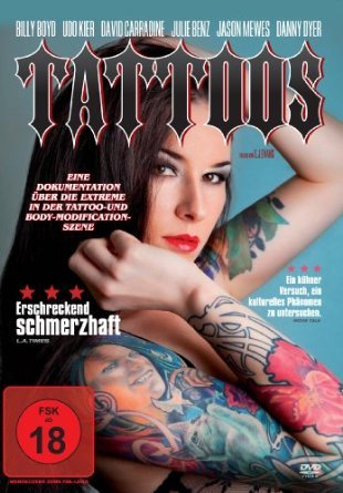 Tattoos: A Scarred History [ NON-USA FORMAT, PAL, Reg.0 Import - Germany ] (Cyborg Tattoo)