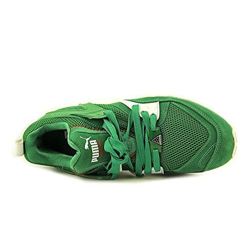 Puma Mens Trinomic Blaze X Amazon Verde / Bianco 10 Corsa Atletica 358490-01