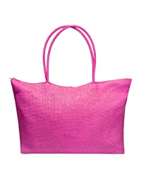 Bessky® Simple Candy Color Bags Women Large Straw Beach Bags Lady Casual Shoulder Bag