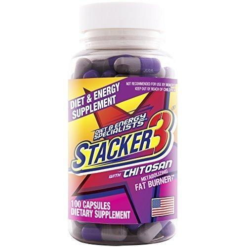 Stacker 3 Metabolizing Fat Burner - 8