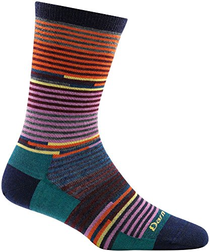 Darn Tough Pixie Crew Light Sock - Women's Navy Large