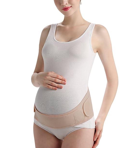 KOOYOL Fajas Embarazo Premamá Ajustable Cinturón Apoyo Abdominal Transpirable Embarazadas Mujeres para Evitar Dolor Espalda: Amazon.es: Ropa y accesorios