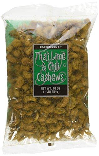 Trader Joe`s Thai Lime and Chili Cashew