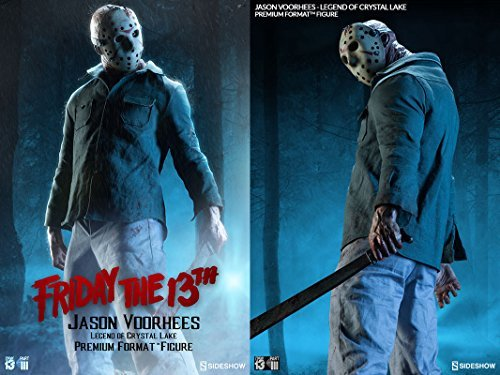 Sideshow Friday the 13th Part III Jason Voorhees - Legend of Crystal Lake Premium Format Figure Statue by Sideshow