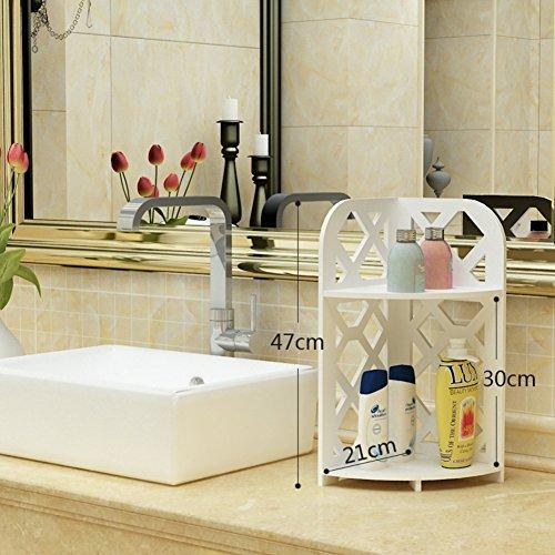 hot sale Bathroom racks/Bathroom corner rack/floor triangular shelf/Toilet bathroom Bathroom Storage rack-A