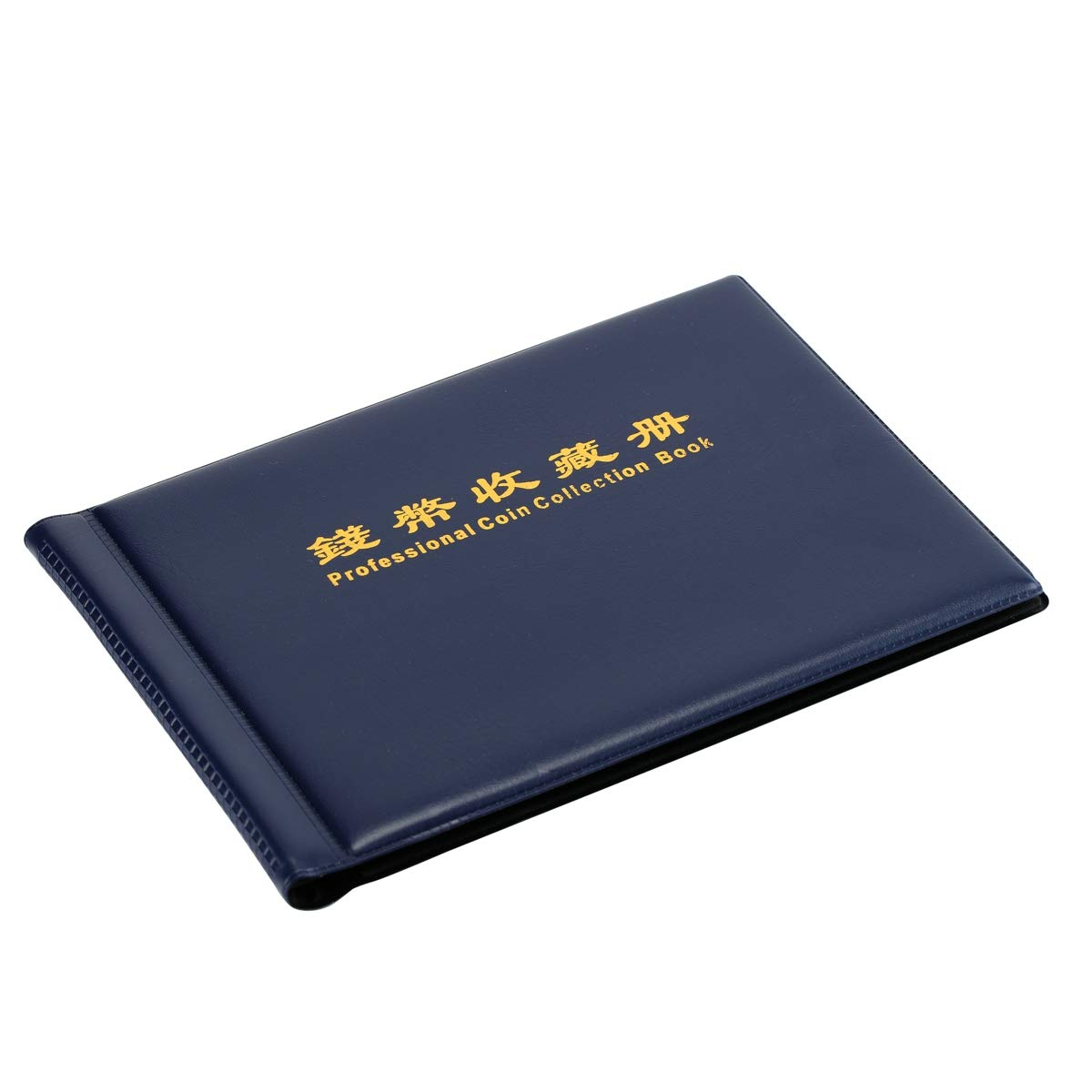 BinaryABC 240-Coin Collectors Collecting Album Holders Coin Cases Collection Penny Book Pockets Storage Holder Collector Craft Gift