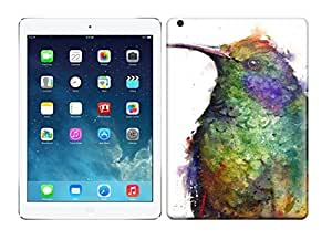 New HUMMINGBIRD Watercolor Print Protective Ipad Air Classic Hardshell Case