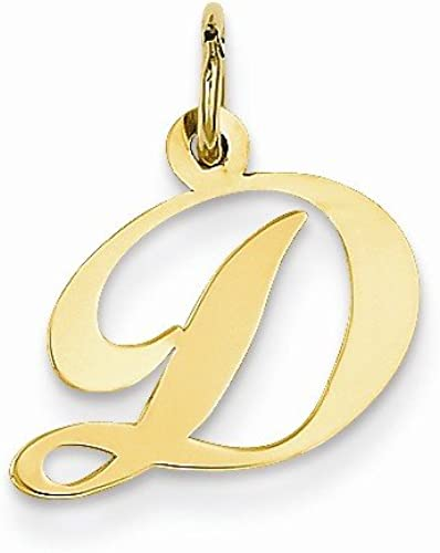 Best Quality Free Gift Box 14k Initial A Charm