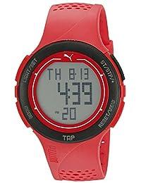 PUMA Unisex PU911211002 Puma Touch Digital Display Quartz Red Watch
