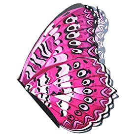 - 515PdIpZtaL - Flying Childhood Kids Girls Fairy Butterfly Wings Costume-Toddler Dress Up Dance Prop-Pretend Play Party Favors
