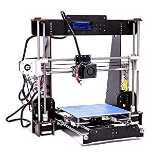 3D Printer, Trovole A8-W5 Pro DIY LCD Screen Desktop 3D Printer Kit with 1.75mm ABS/PLA Printer Filament(Build size 220×220×240mm) from TROVOLE