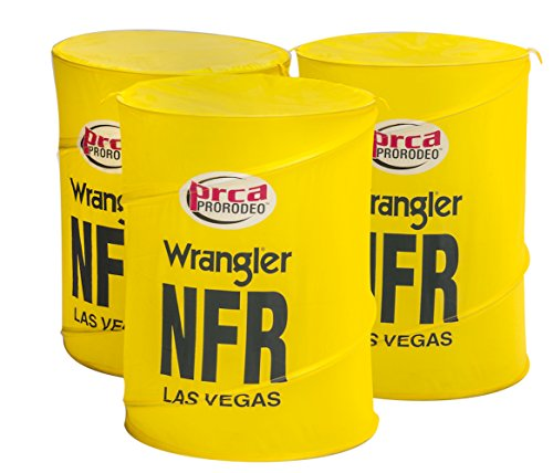 Big Country Toys NFR Barrels - Kids Hopper Toy Accessories - Barrel Racing Toys - Rodeo Toys - Kids Pop-up Barrels ()