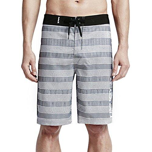 Hurley Men's Sunset 22'' Boardshorts Black Swimsuit Bottoms by Hurley