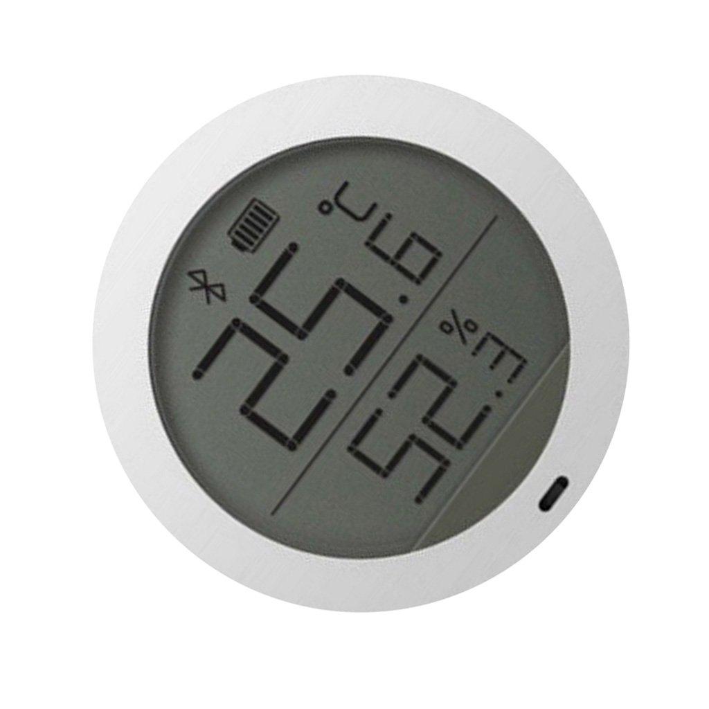 Fenteer Big LCD Screen Display Bluetooth Digital Hygrometer Thermometer for Xiaomi