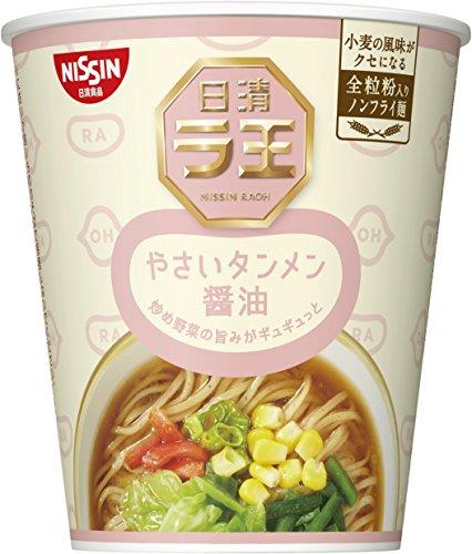 닛신 NISSIN 컵라면 닛신 라왕 라오 컵 야채탕면 간장 57g×12개