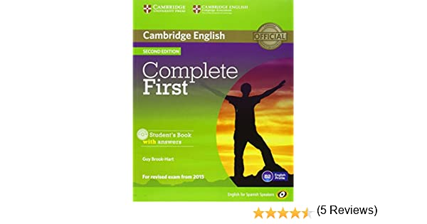 Complete First for Spanish Speakers Self-Study Pack Students Book ...