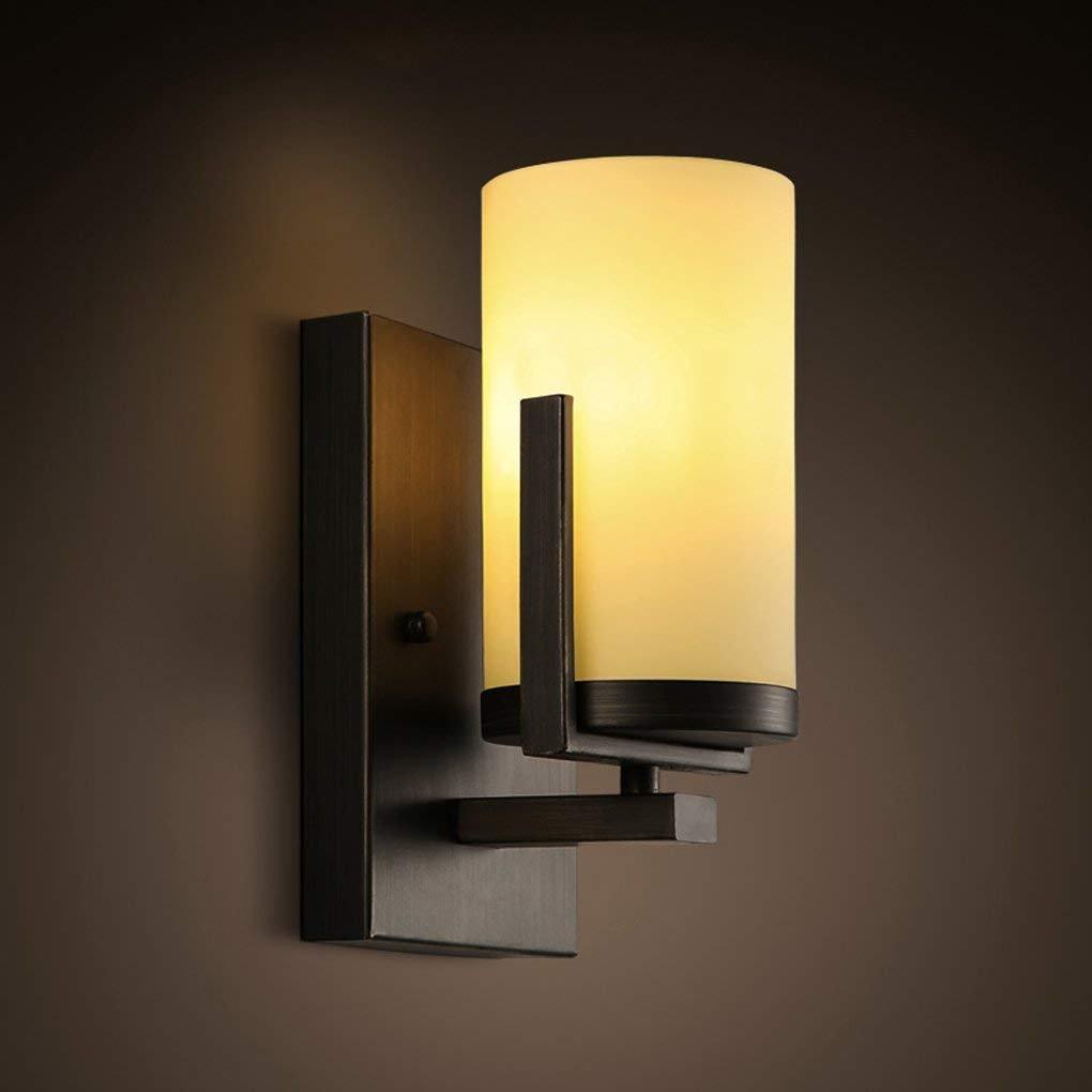 IG Kreative Wandleuchten Schlafzimmer Bedside Aisle Corridors Balkon Wandleuchten Kerzenhalter Beleuchtung