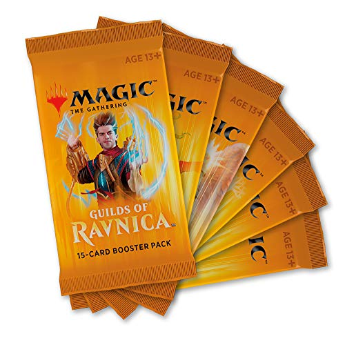 (Magic: The Gathering Guilds of Ravnica Boosters | 6 Booster Packs (90)