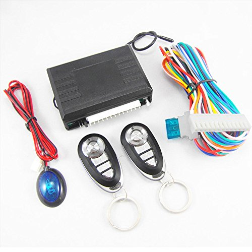 FICBOX Universal Vehicle Security Door Lock Kit Car Remote Control Central Locking Keyless Entry System