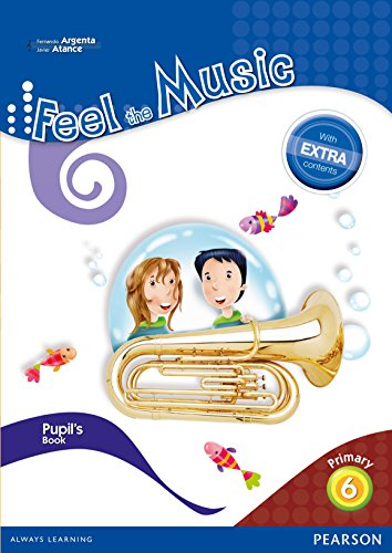 Feel The Music 6. Pupil's Book - Edición LOMCE (Siente la Música)