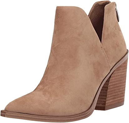 Womens Fall Cutout Ankle Boots Block