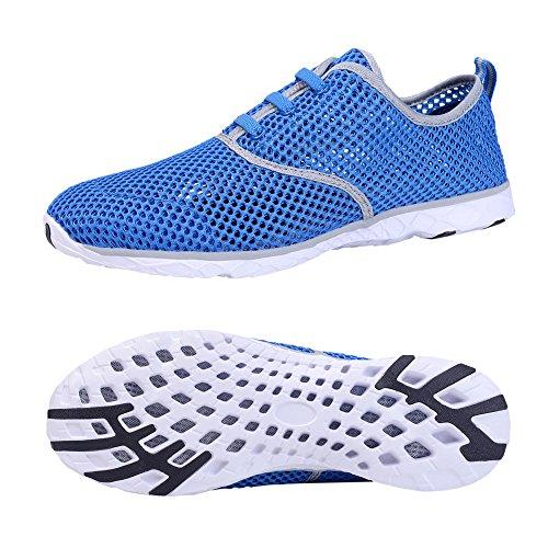 Santiro Mens Ultralight Mesh Water Shoes Blue aJmS04h
